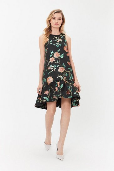 Multi Opera Hem Dress