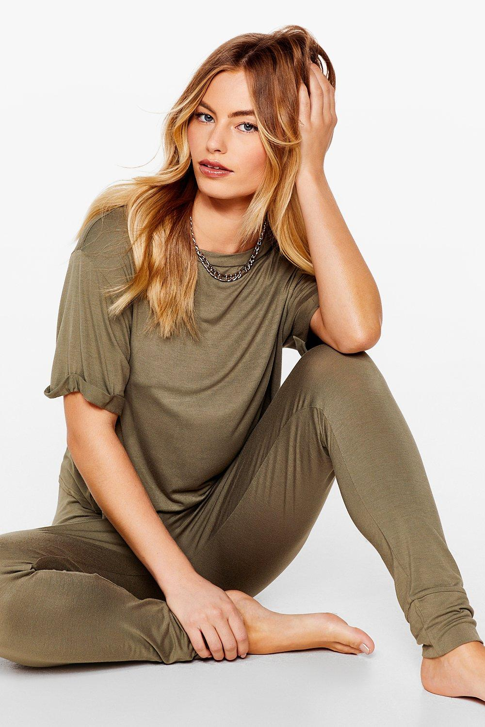 Back Where Tee Belong Jogger Pyjama Set