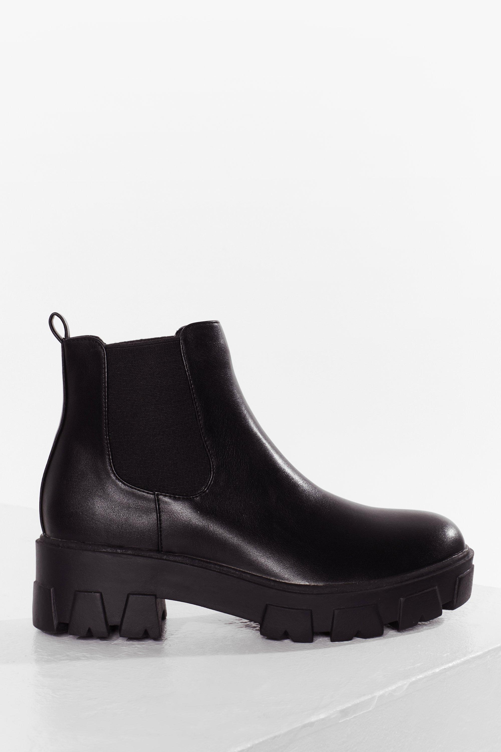 Step Up Your Game Cleated Chelsea Boots