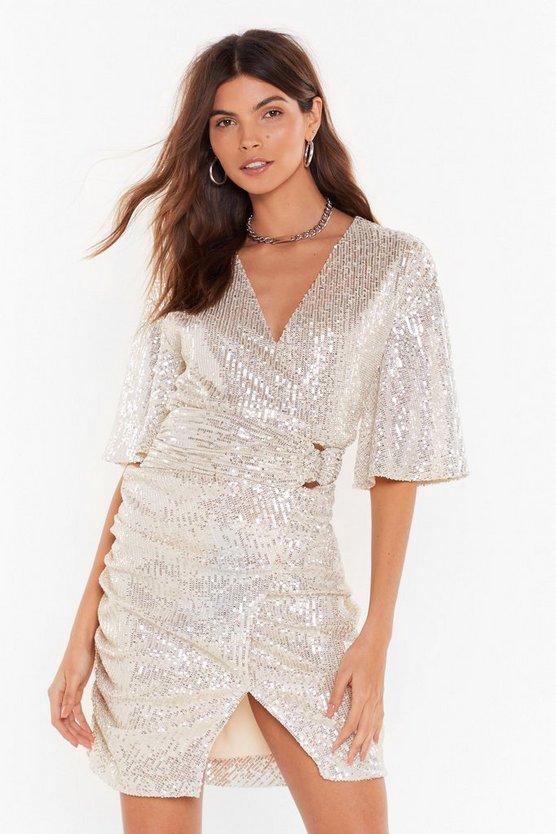 Glitters Like a Glitterball Sequin Mini Dress