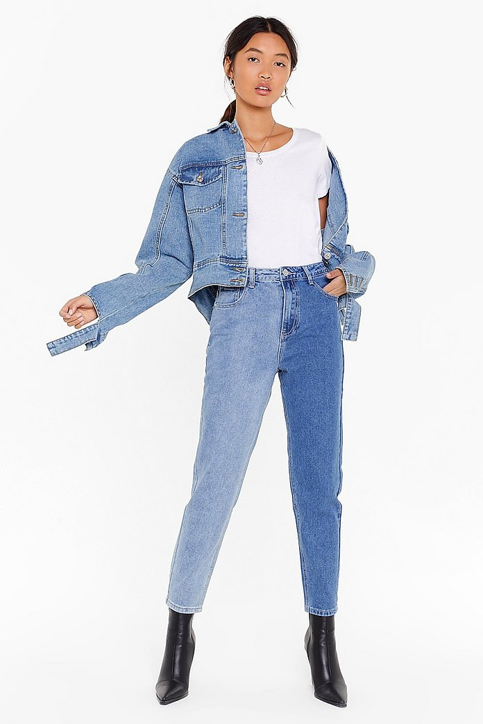 san francisco durable in use online store It Takes Two Tone Denim Mom Jeans | Shop Clothes at Nasty Gal!