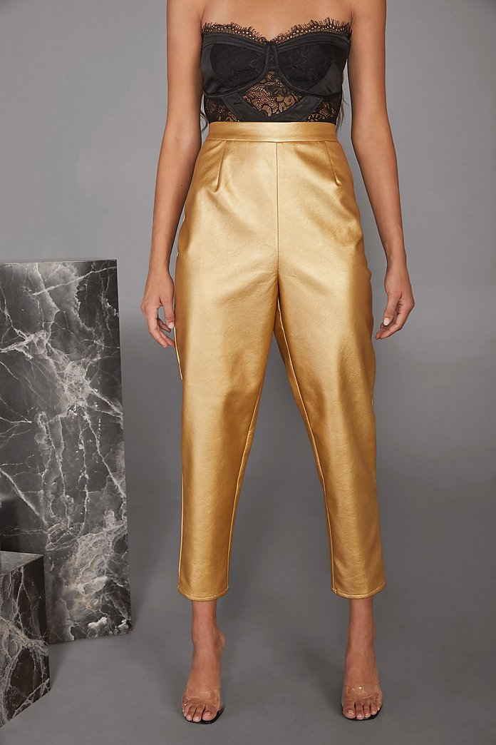 Gold trousers