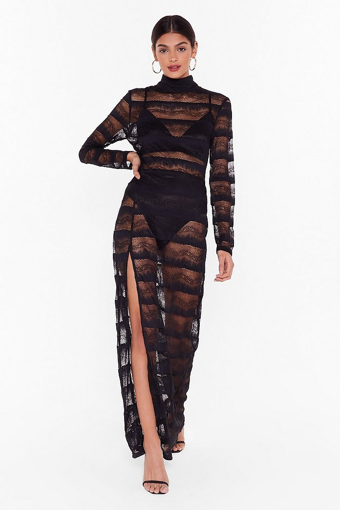 Nasty Gal Studio Dancing In The Dark Lace Dress Shop Clothes At Nasty Gal
