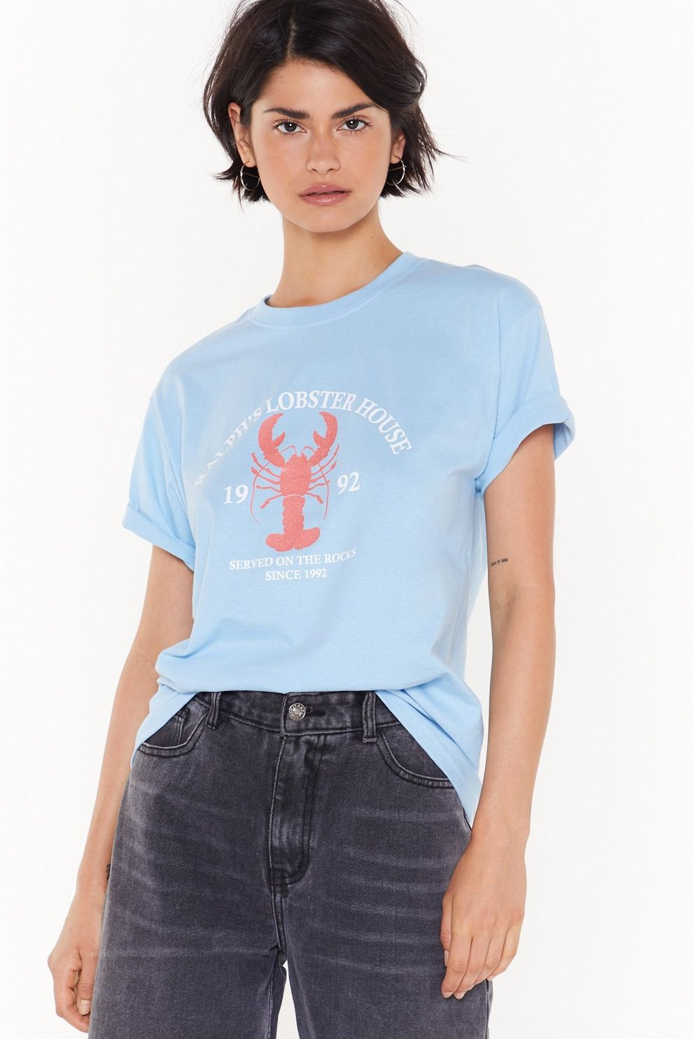 c9bd05794f Lobster Anyone Graphic Tee