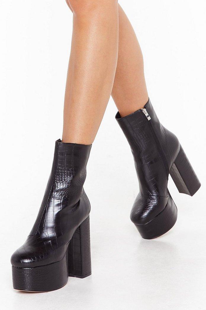 Me BootsShop Clothes Good Gal Platform Croc At Nasty xsrBdCthQo