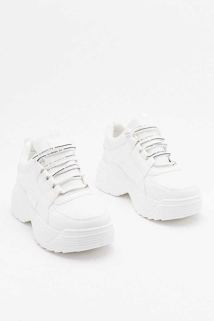 Be a Good Sport Chunky Sneakers Nasty Gal  Nasty Gal