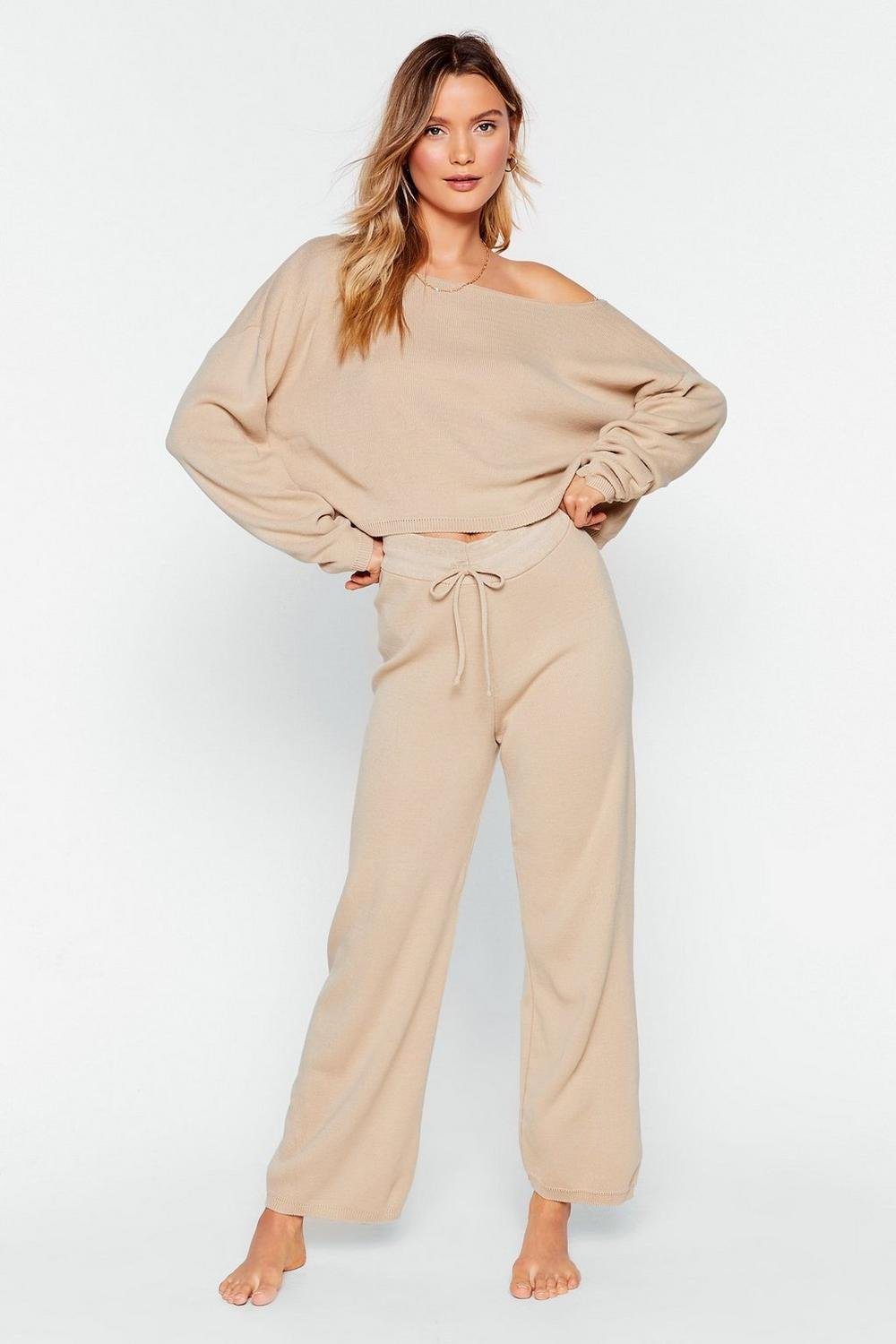 49a8976b99 Slow Down Jumper And Jogger Lounge Set   Shop Clothes at Nasty Gal!