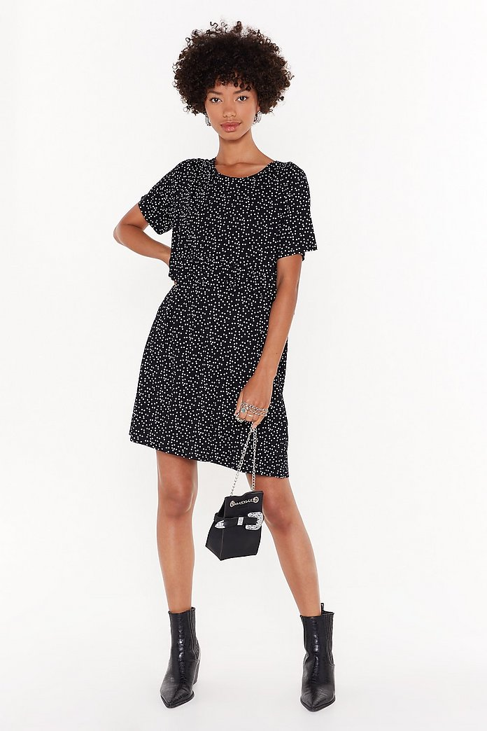 size 40 ea5b7 bede3 Gonna Go Star Relaxed Mini Dress | Shop Clothes at Nasty Gal!
