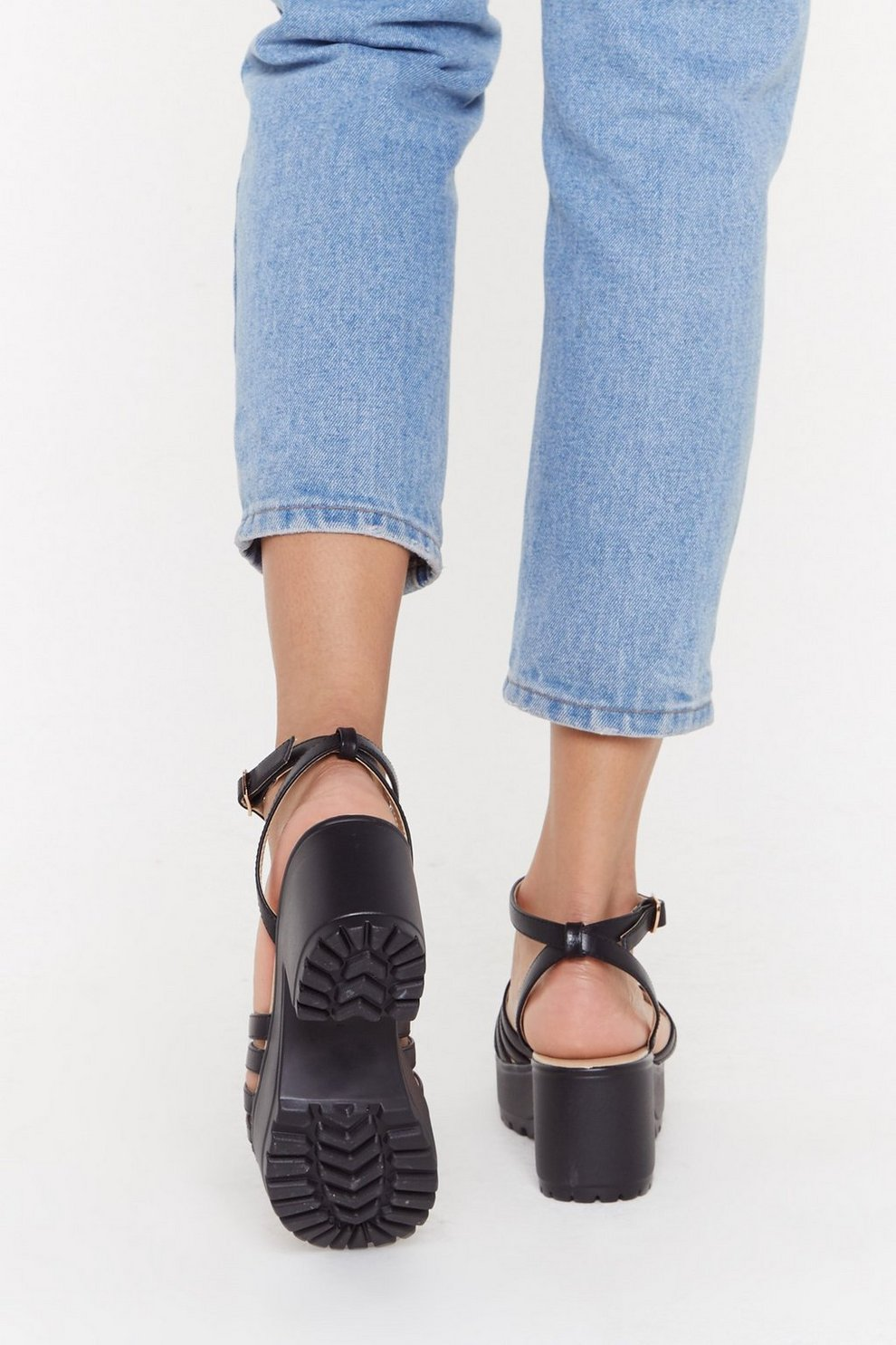 7311f813c6 Strappy Chunky Sandal   Shop Clothes at Nasty Gal!