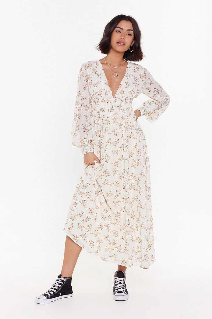deft design big discount of 2019 colours and striking Summer of Love Floral Maxi Dress | Shop Clothes at Nasty Gal!