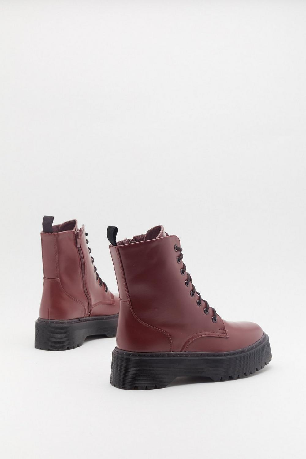 ff4f7815f Keep Walking Faux Leather Biker Boots | Shop Clothes at Nasty Gal!