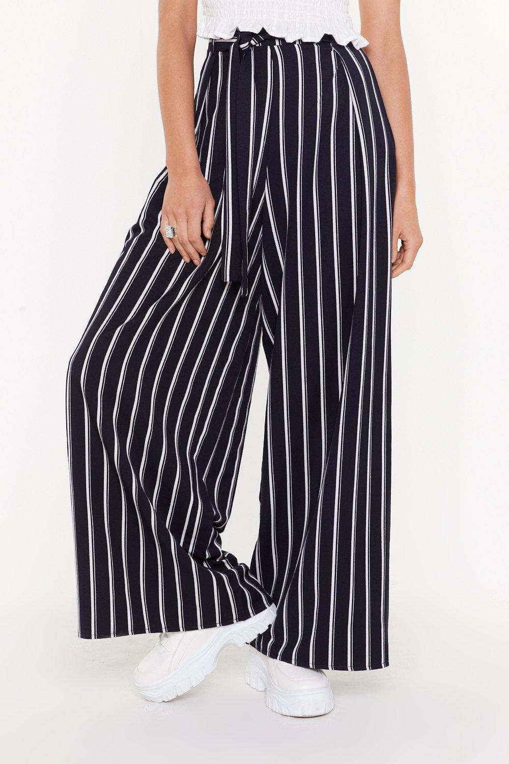 313862bf17 Once Upon a Line Striped Wide-Leg Pants | Shop Clothes at Nasty Gal!