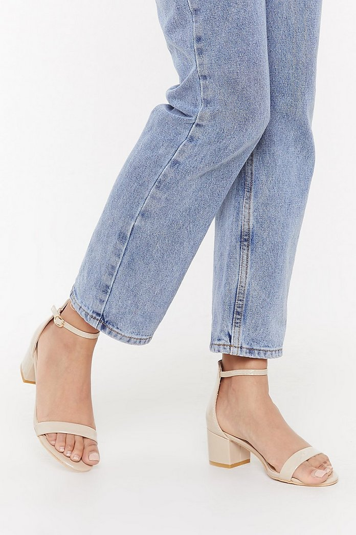 On the Low Down Heeled Sandal | Nasty Gal