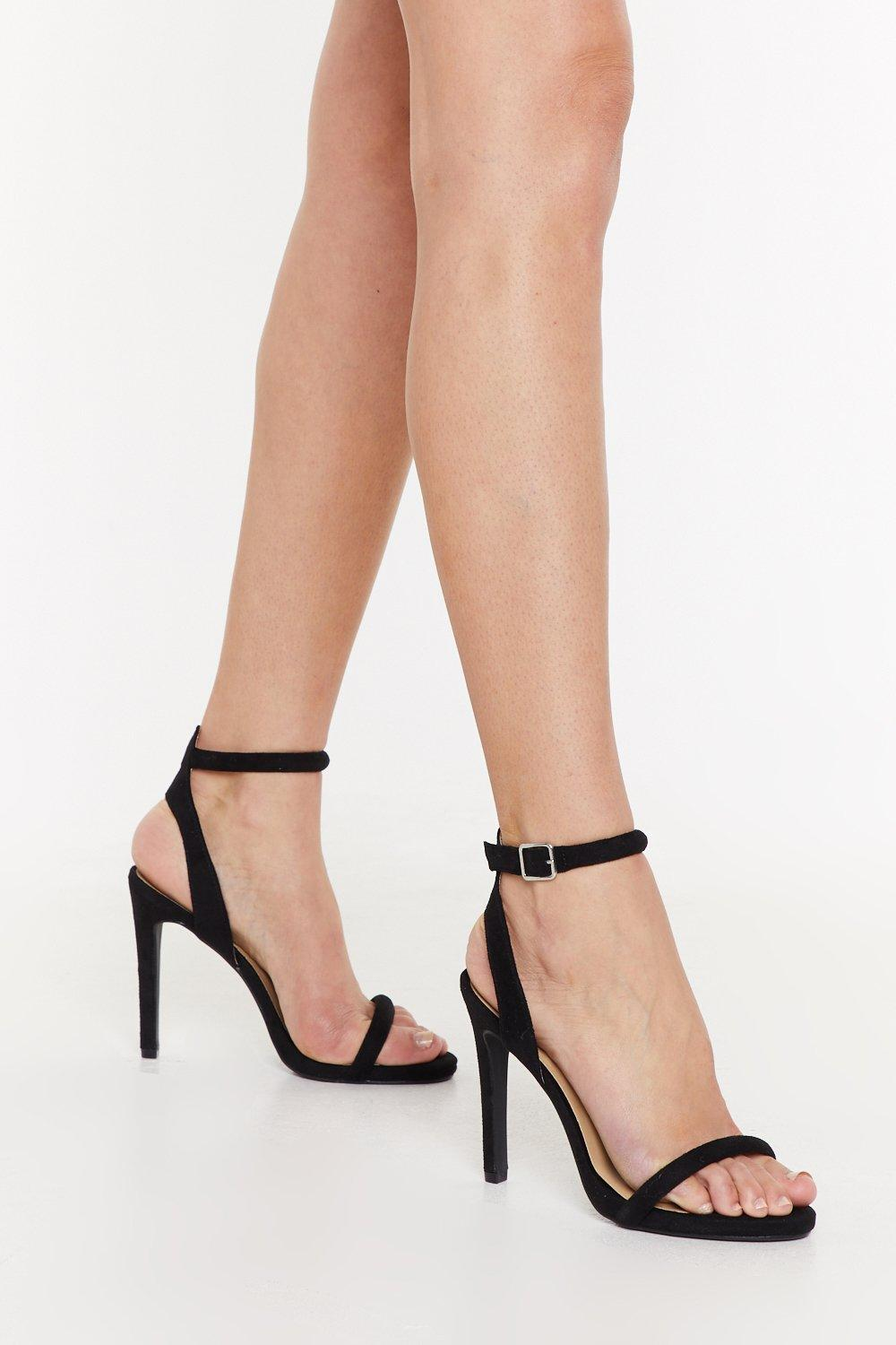 5d29fd4bbcb Step Aside Faux Suede Stiletto Heels | Shop Clothes at Nasty Gal!