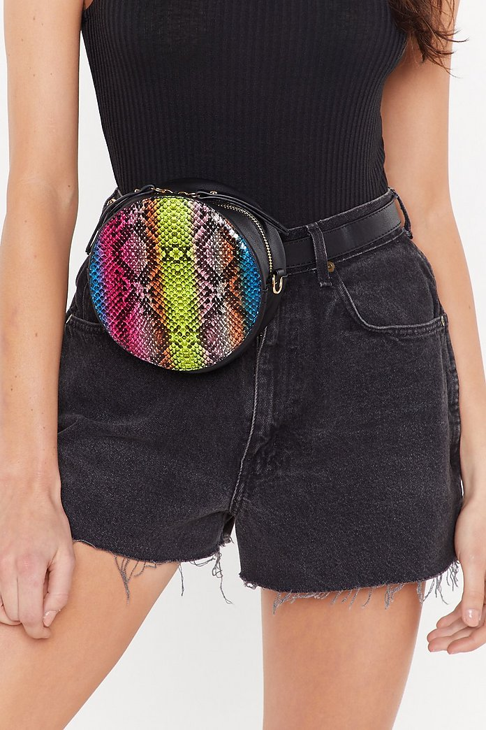 Rainbow Snake Multiway Bag by Nasty Gal