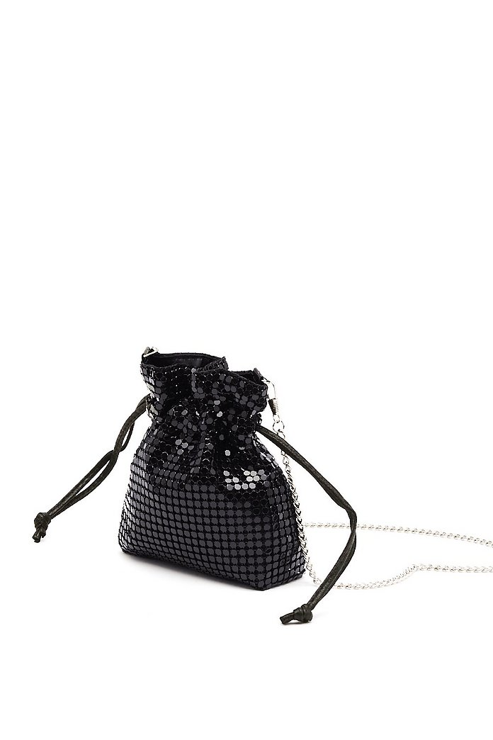 bas prix 1bb8e c2e94 Mini sac seau WANT à bandoulière en maille métallique | Shop Clothes at  Nasty Gal!