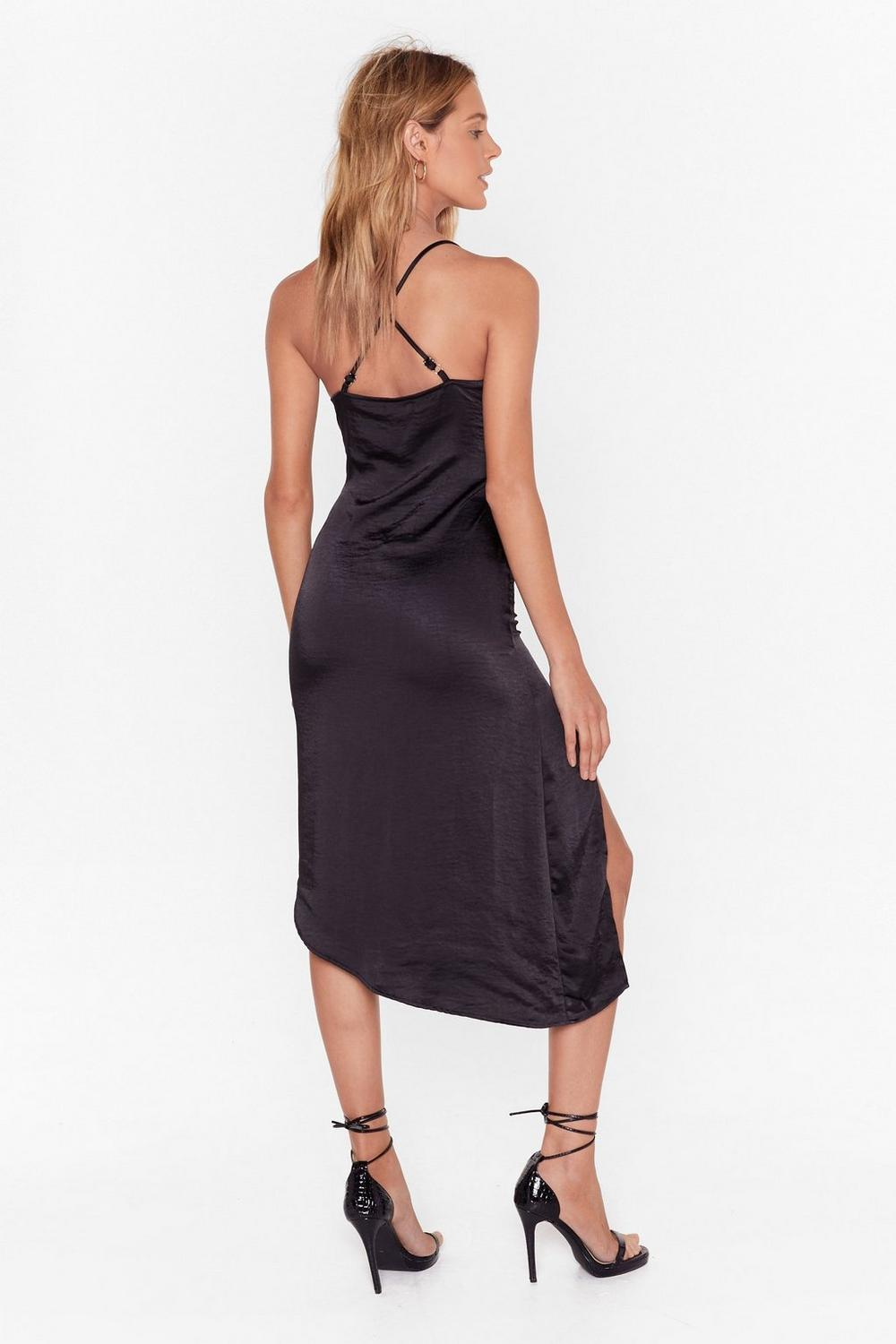 530a967b8270 Cowl to Be a Heartbreaker Satin Midi Dress | Shop Clothes at Nasty Gal!