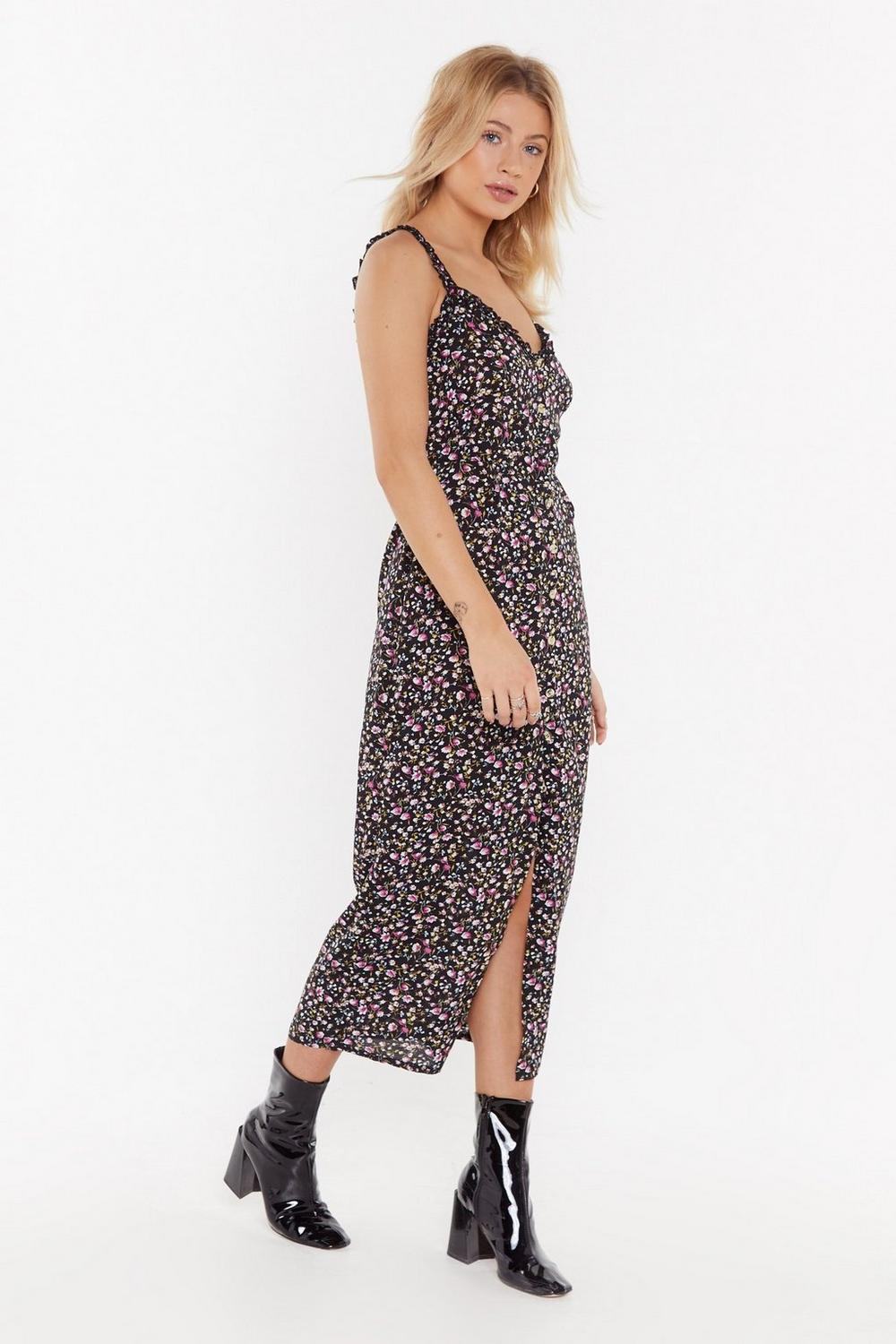 bb77b42c2de5 Flower Mad Floral Button-Down Midi Dress | Shop Clothes at Nasty Gal!
