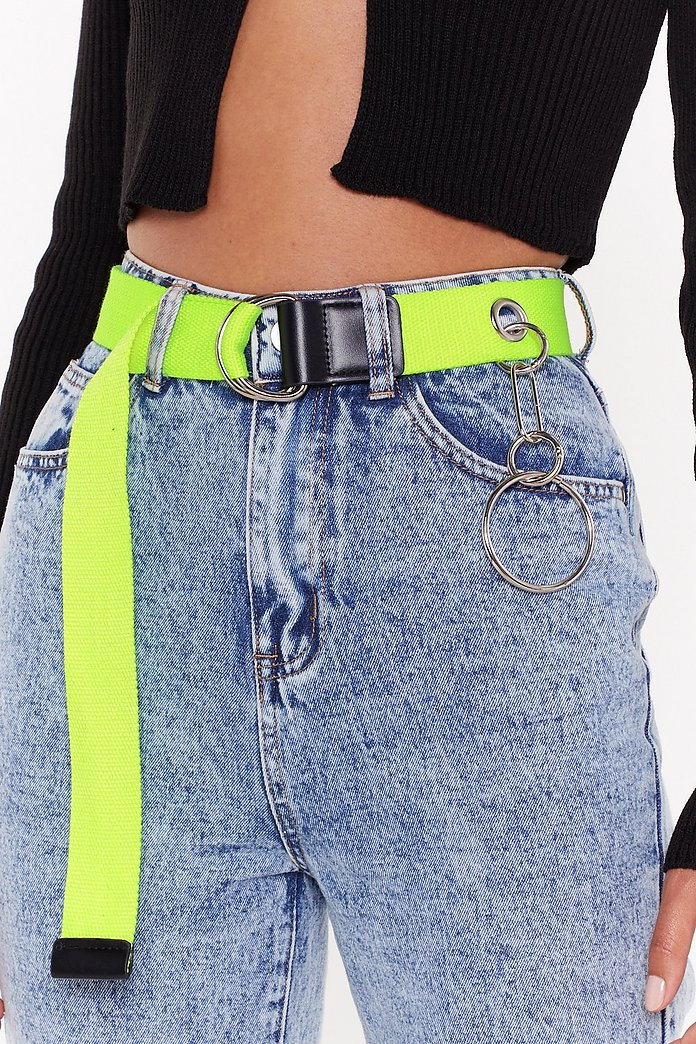 Circle Charm Nedtape Belt by Nasty Gal