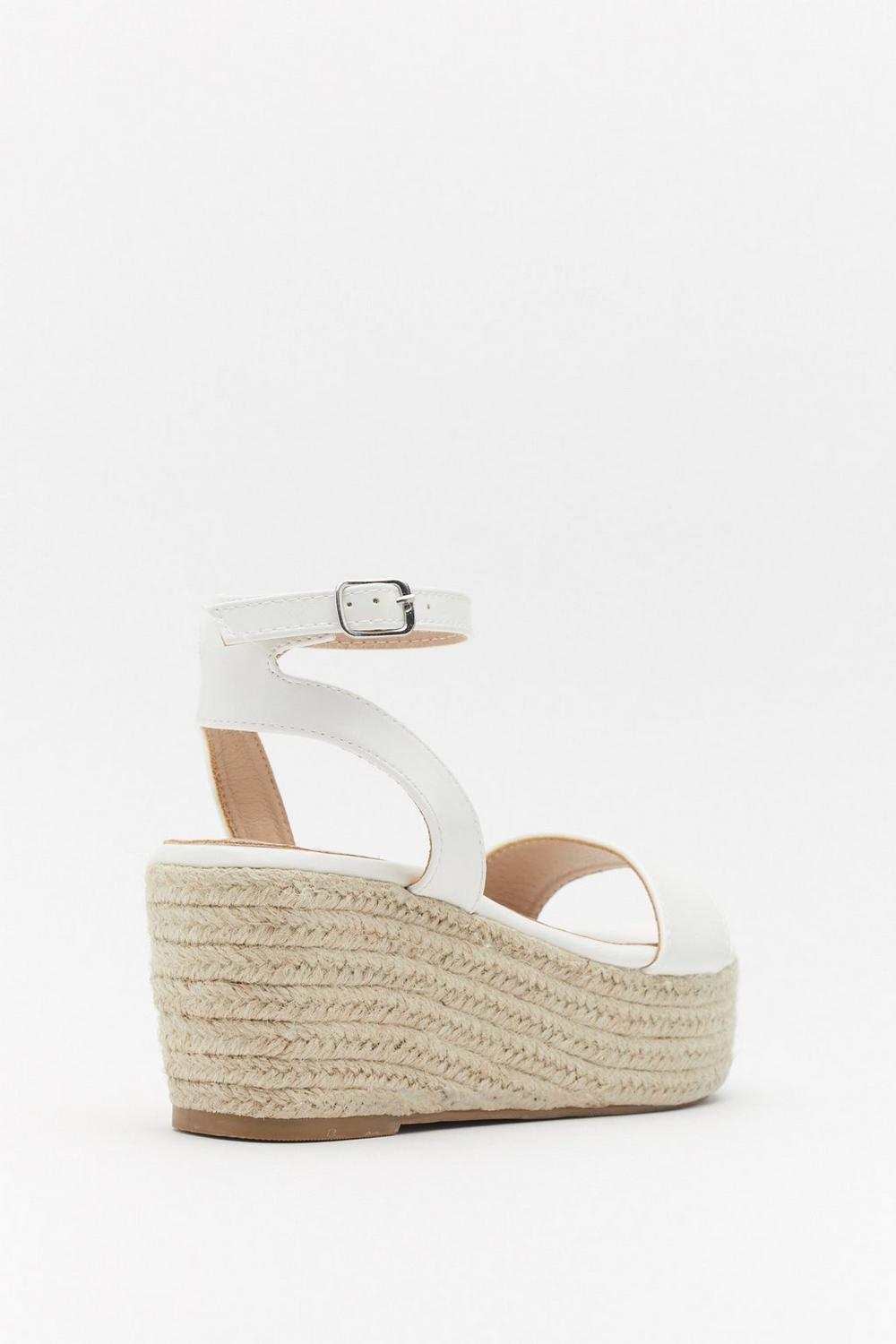 900df857d Up a Little Espadrille Wedge Sandals   Shop Clothes at Nasty Gal!