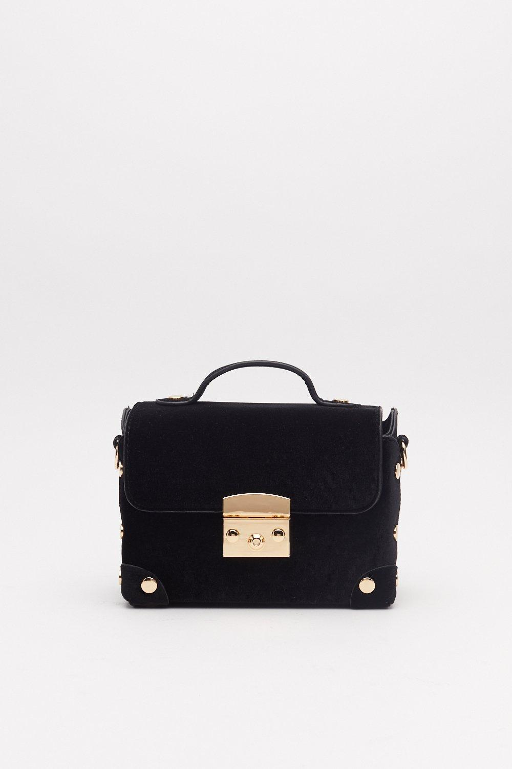 f0c85a7ca05 WANT Can't Fight This Feeling Velvet Crossbody Bag | Shop Clothes at ...