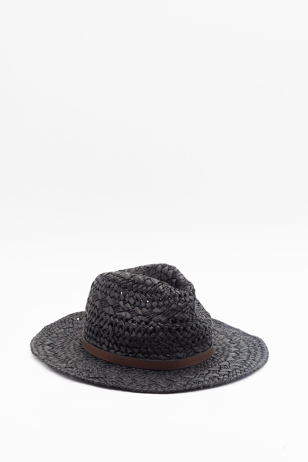 0cb570495dd10 Straw It Coming Woven Hat   Shop Clothes at Nasty Gal!