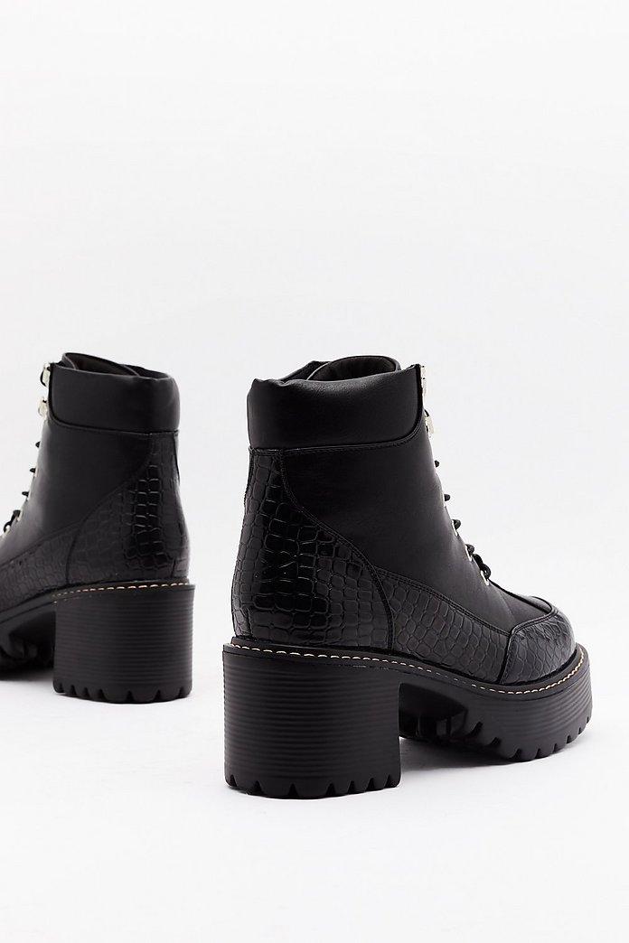 Boots Chunky Heel