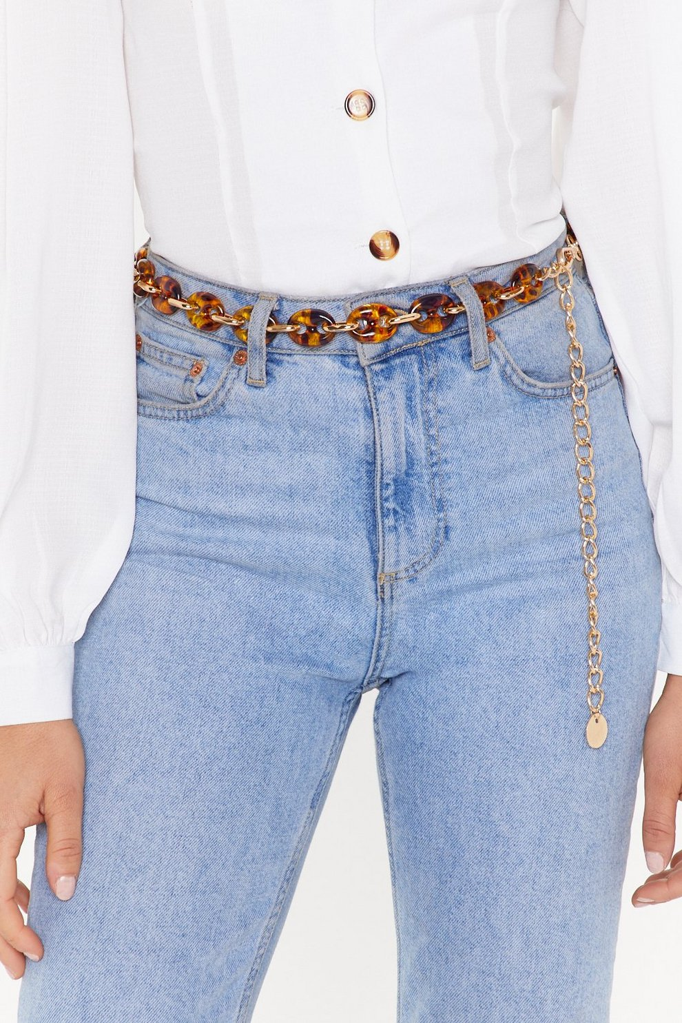 04a1549ee Tort About It Chain Tortioseshell Belt | Shop Clothes at Nasty Gal!