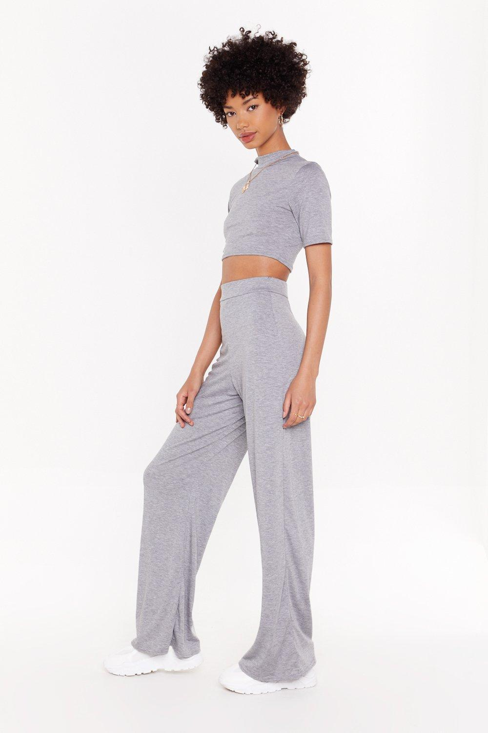476ea9abcdbe Wide Leg & Sweat Co-ord Set   Shop Clothes at Nasty Gal!