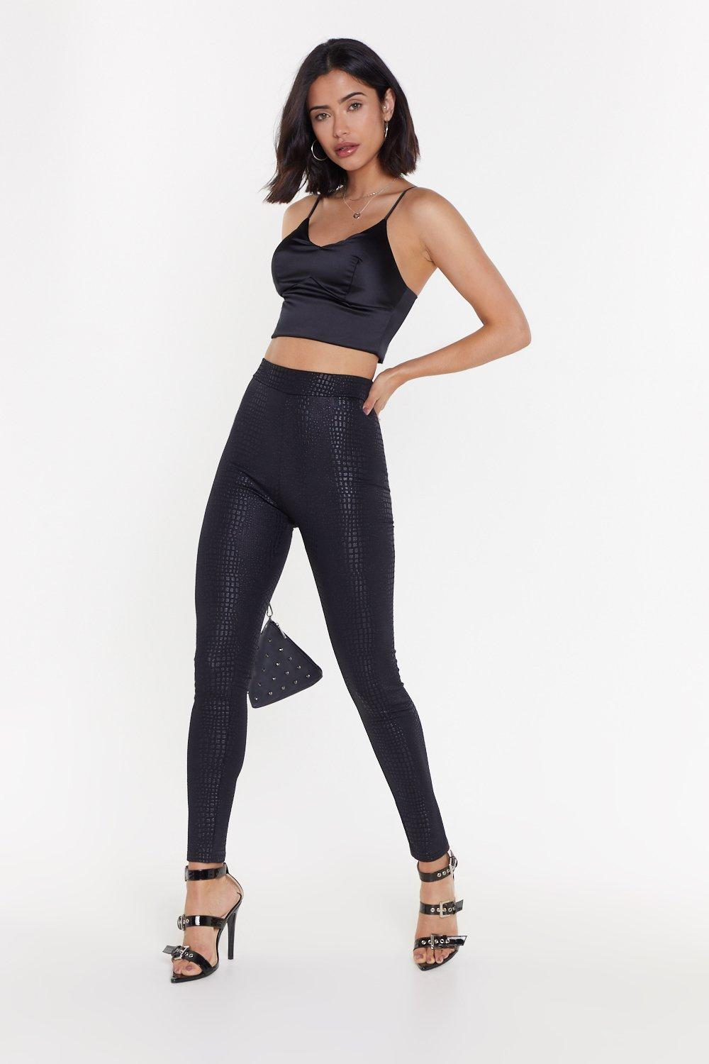 1dd20d2acd89 MS Wet Look Legging   Shop Clothes at Nasty Gal!