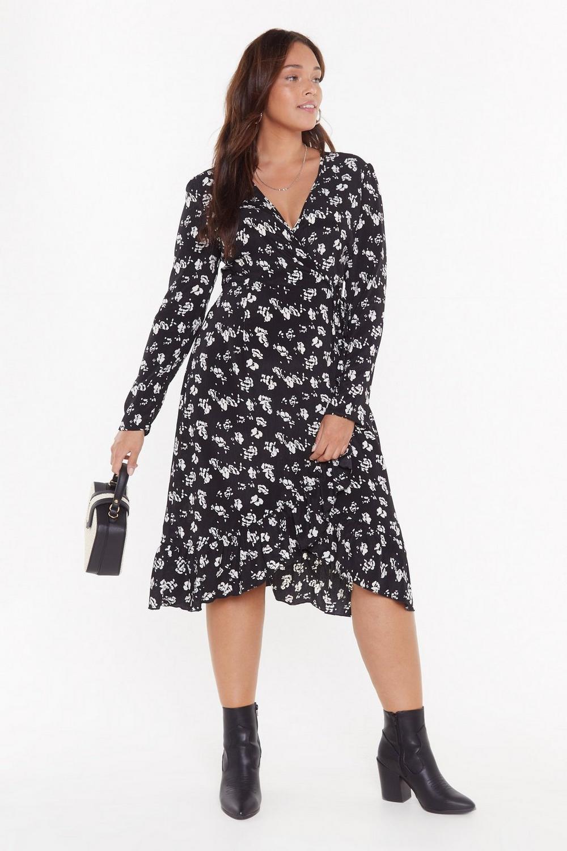 b0d12f6133 Frill Got It Plus Floral Midi Dress | Shop Clothes at Nasty Gal!