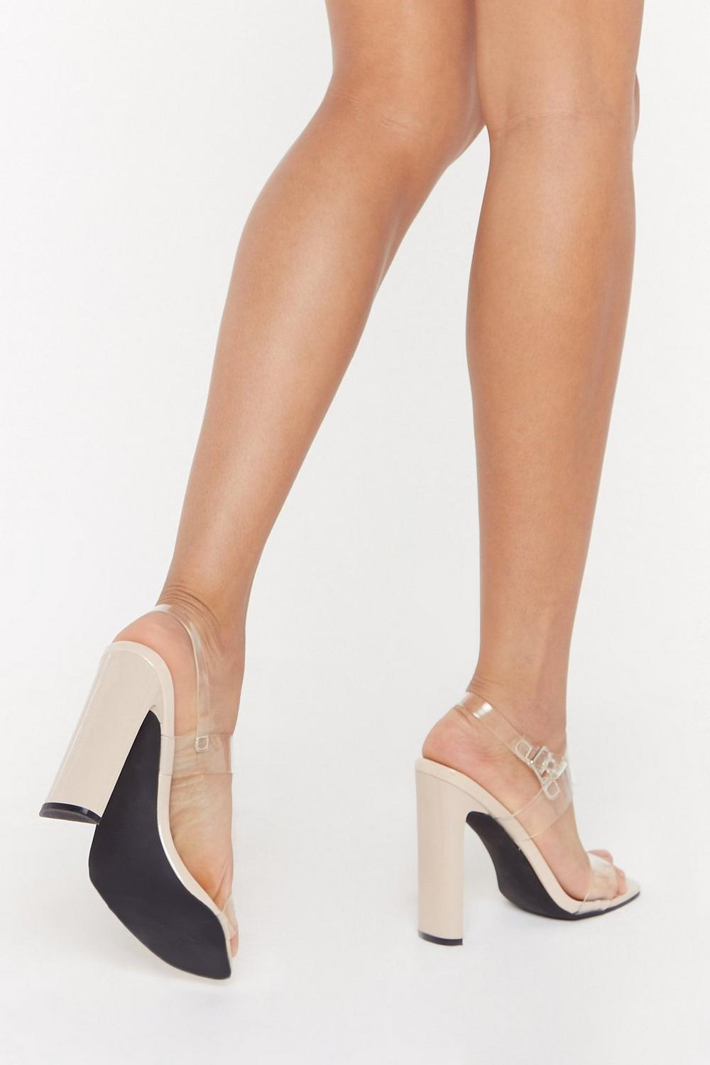 3f5ac0b5f89 Made It Clear Perspex Strappy Heels   Shop Clothes at Nasty Gal!