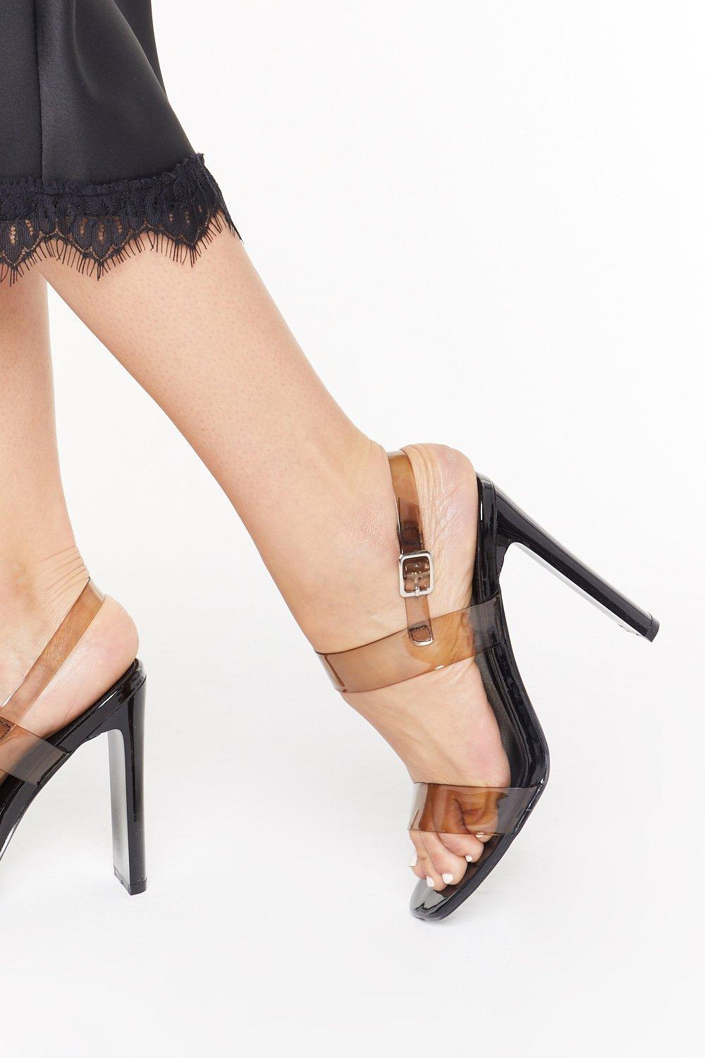 d211869125c Made It Clear Perspex Strappy Heels | Shop Clothes at Nasty Gal!