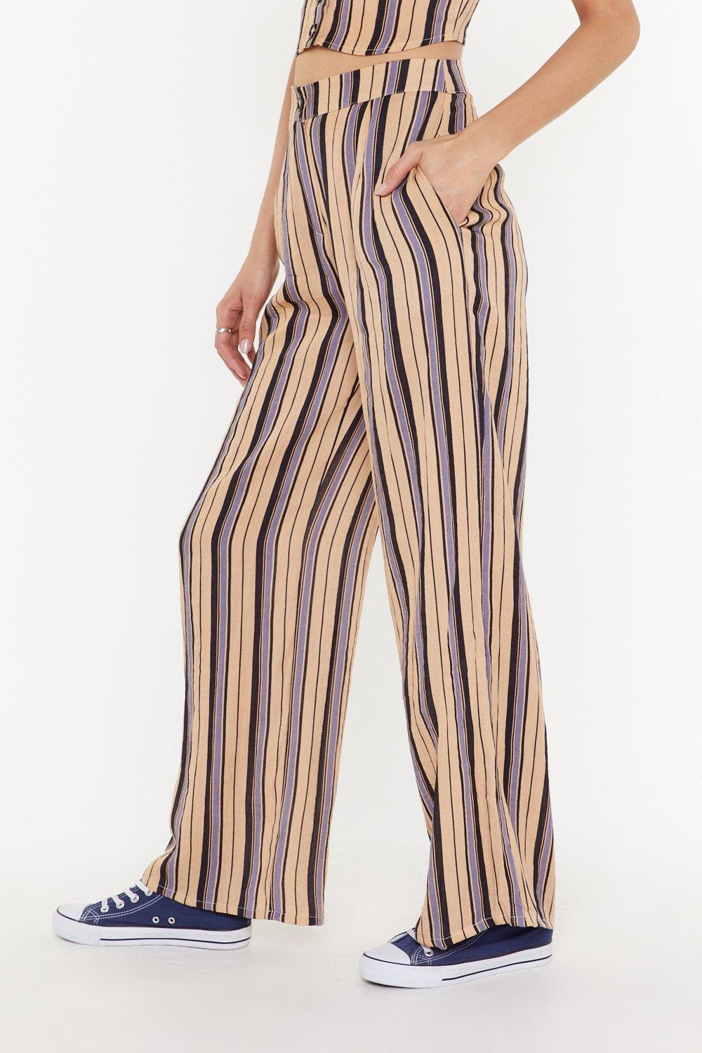 e2dd86fac223 All the Stripe Reasons Wide-Leg Pants | Shop Clothes at Nasty Gal!