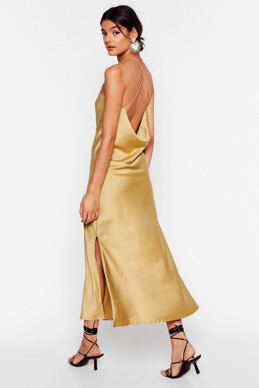 c1f01c9f3d78 Don't Slip Up Midi Slip Cami Dress | Shop Clothes at Nasty Gal!