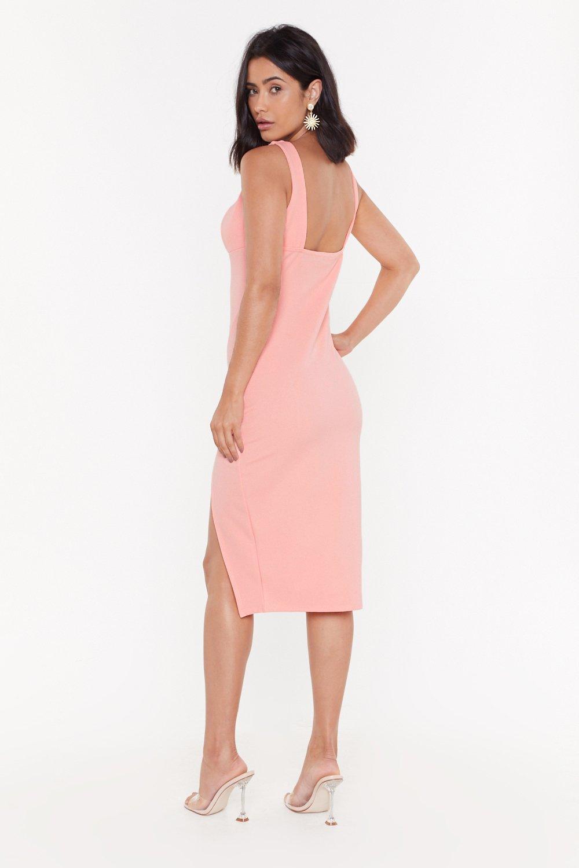 da010a309249 Plunge Down Midi Dress | Shop Clothes at Nasty Gal!