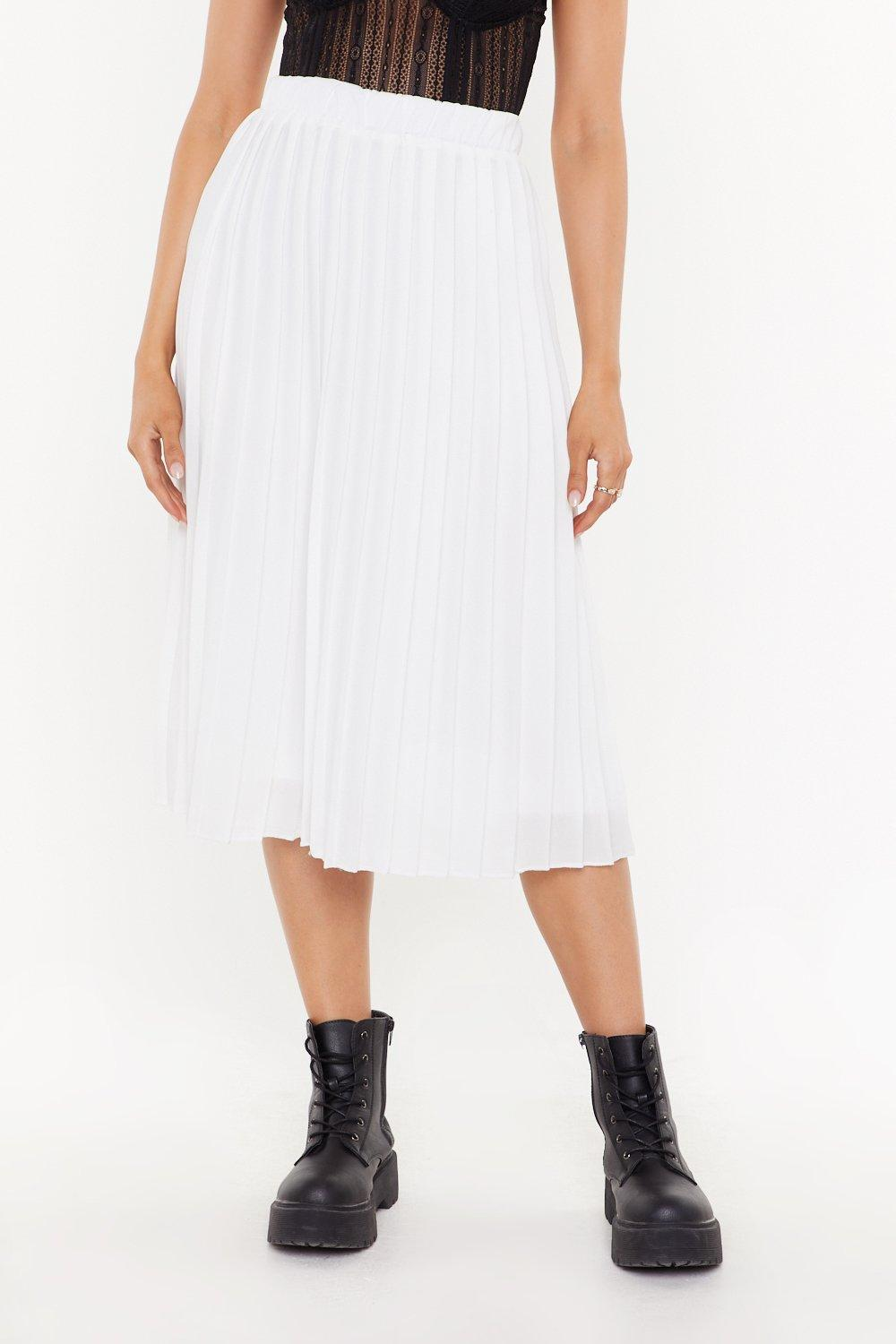 0e30ef527f56 Pleated Midi Skirt | Shop Clothes at Nasty Gal!