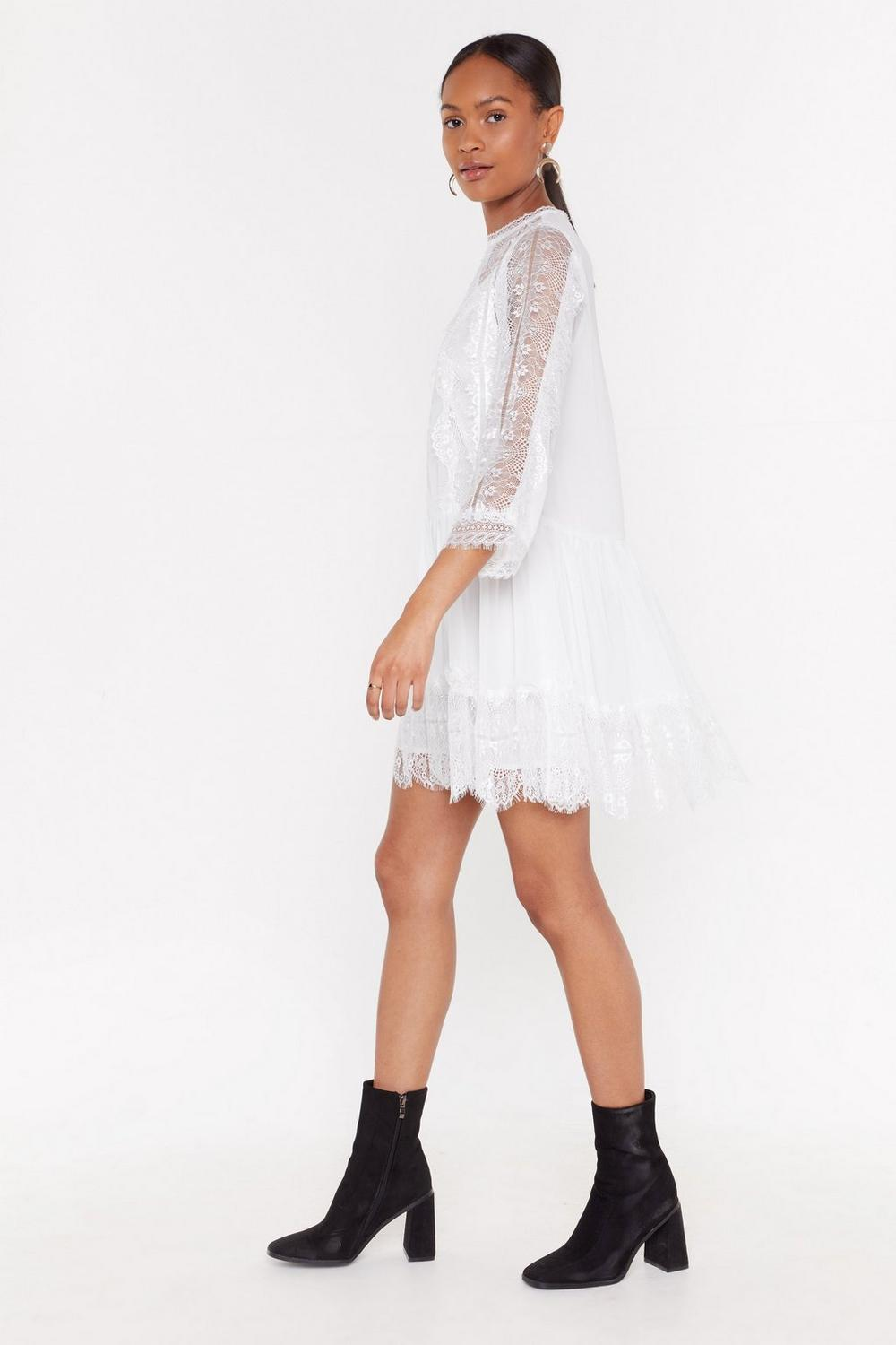 3e4eef65ba17 Lace Smock Dress | Shop Clothes at Nasty Gal!