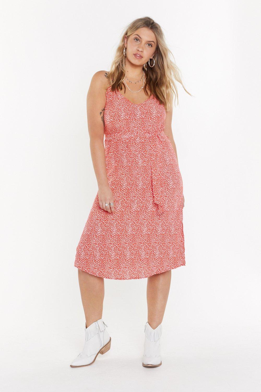 Spot Plus Midi Dress