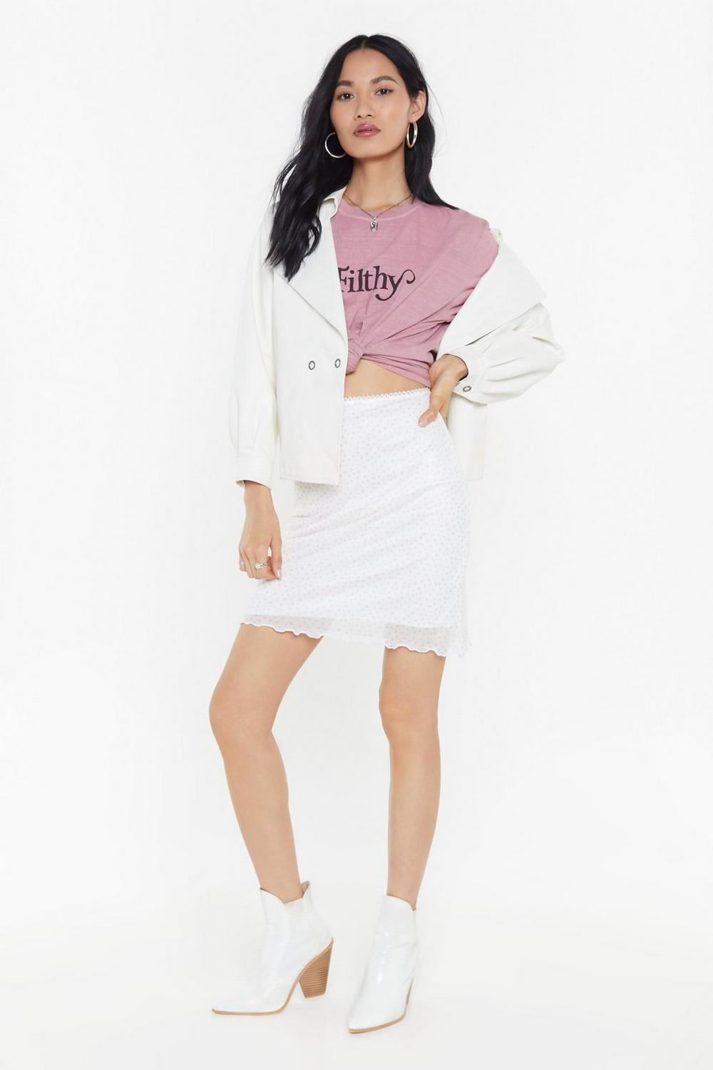1d96703d15 On the Spot Mesh Mini Skirt | Shop Clothes at Nasty Gal!