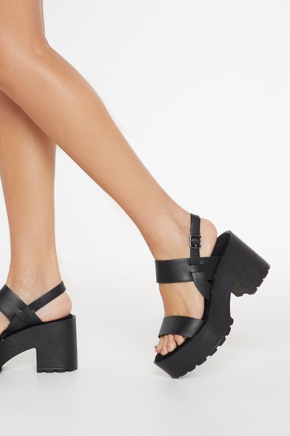 39cf15eacec3 Chunky Cleated Open Toe Sandals | Shop Clothes at Nasty Gal!