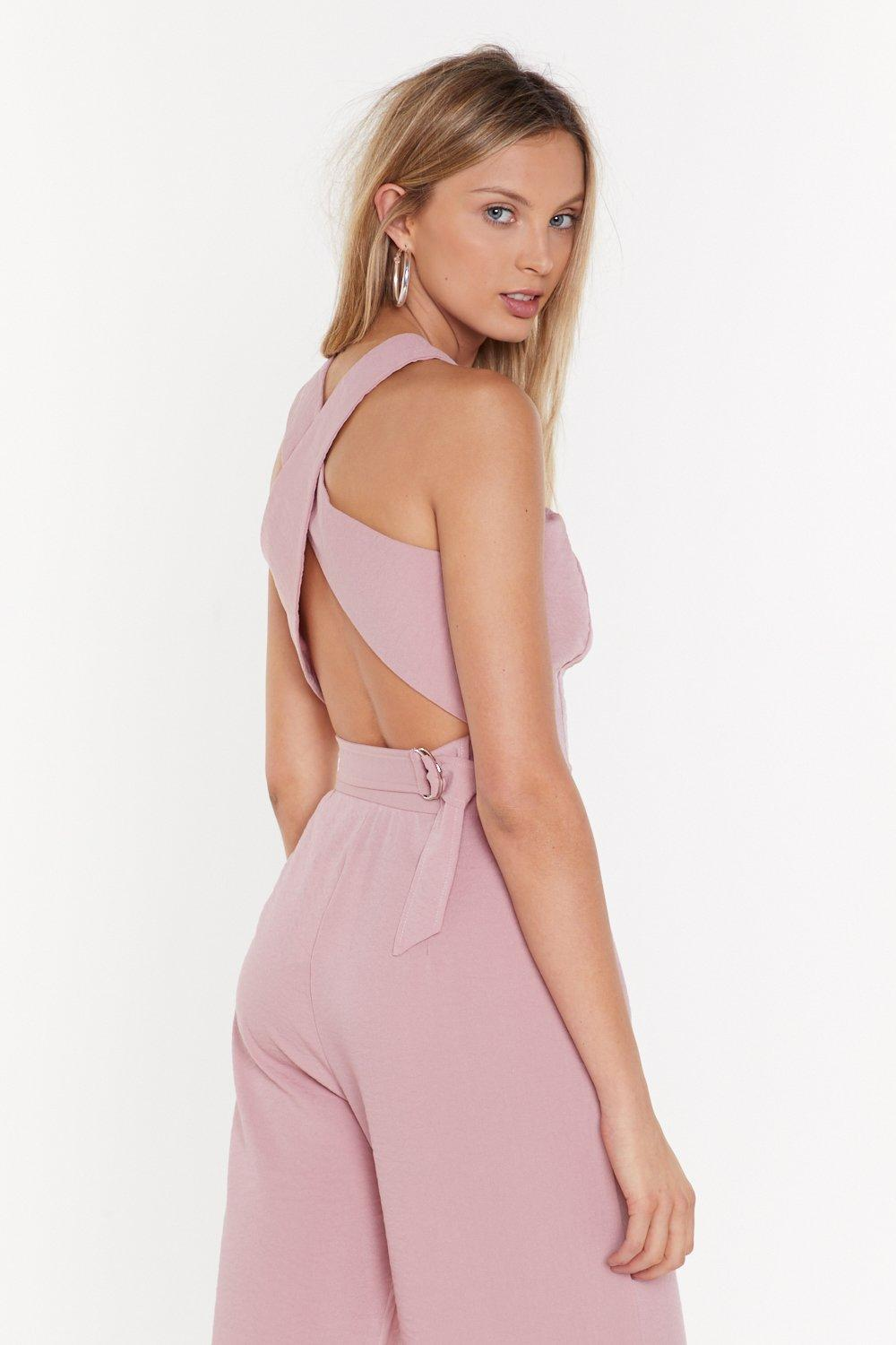 7c23eabd55 Cross Back Crop Co-Ord Top | Shop Clothes at Nasty Gal!