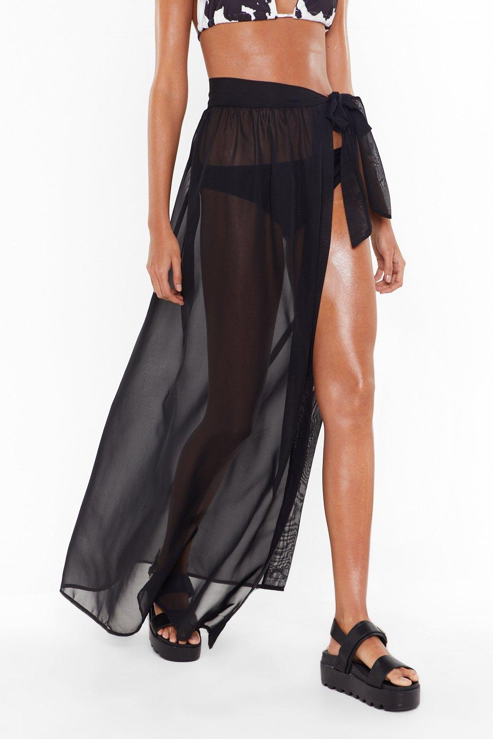 6de072a4b MS Tie Side Chiffon Beach Maxi Skirt | Shop Clothes at Nasty Gal!