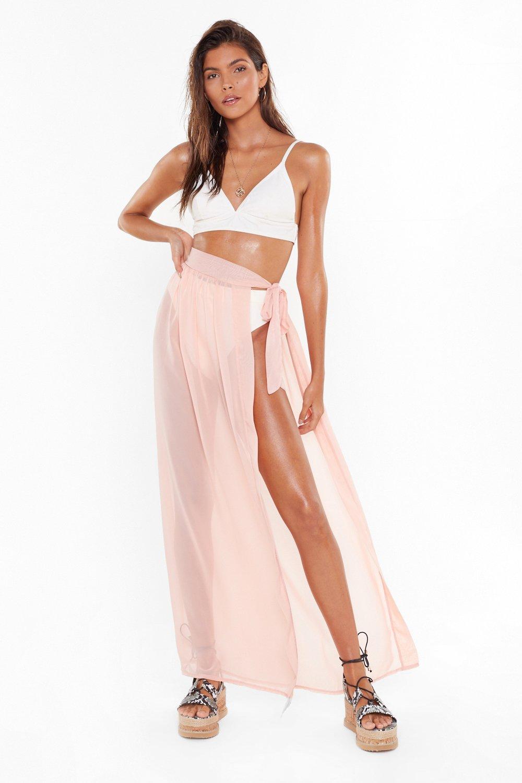 de2e02b3e7 MS Tie Side Chiffon Beach Maxi Skirt | Shop Clothes at Nasty Gal!