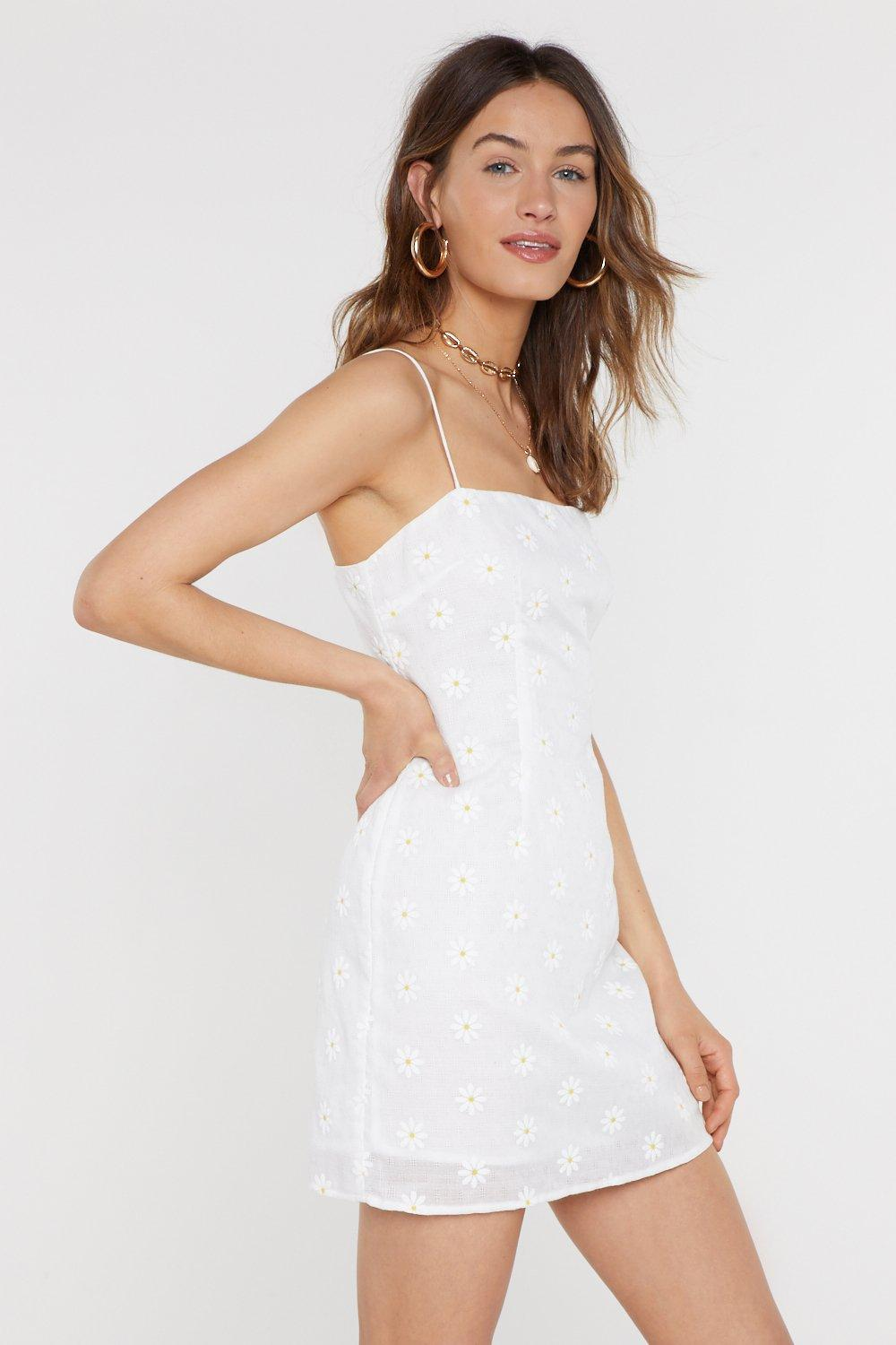b218b22569a6c Daisy Square Neck Mini Dress | Shop Clothes at Nasty Gal!
