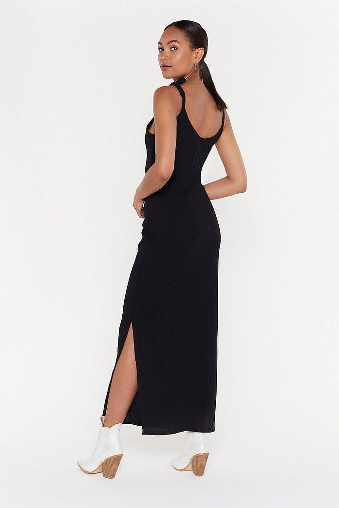 Tie Shoulder Maxi Dress | Nasty Gal