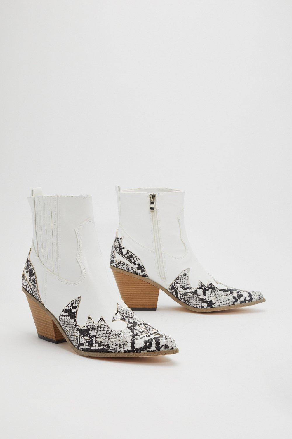 5c3dc98ac06 Snake in the Desert Cowboy Boots   Shop Clothes at Nasty Gal!