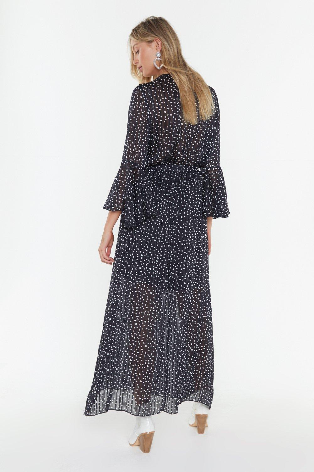dcfa426fcab71 Dot Your Number Spotty Maxi Dress | Shop Clothes at Nasty Gal!
