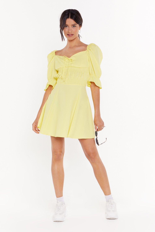 53ca24b4407d5 Sweet Lovin' Puff Sleeve Mini Dress | Shop Clothes at Nasty Gal!