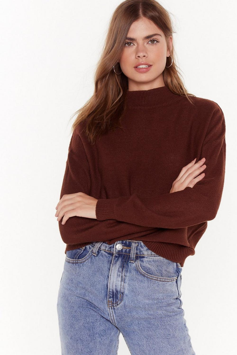 08eaca1e857 Knit Me with Your Best Shot High Neck Jumper | Shop Clothes at Nasty Gal!
